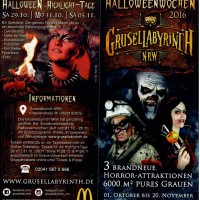 Halloween-Event Verlosung: Grusellabyrinth NRW