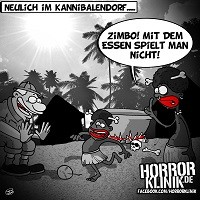 HK-Cartoon: Kannibalendorf