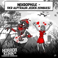 HK-Cartoon: Zombies vs. Nekrophile