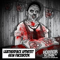 HK-Cartoon: Leatherface' Status-Update