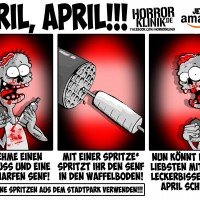 Scheußlich-genialer 1. April-Scherz!