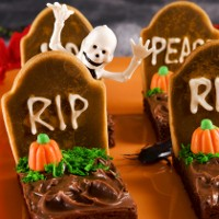 Halloween Rezept: Friedhof Cookies