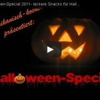 Halloween Rezepte Video Tutorial: Halloween Snacks Teil 1