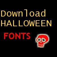 Halloween Fonts zum Download