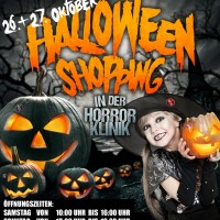 Halloween Weekend Shopping im Halloween Outlet Store der Horrorklinik!