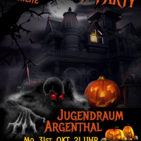 Halloween Verlosung: Party im Jugendraum Argenthal
