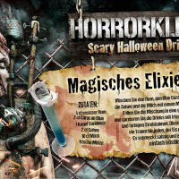 Halloween Countdown Special – Magisches Elixier Halloween Cocktail