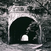 Spuk-Erscheinung: Moonville Tunnel, Ohio, USA