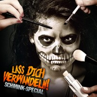 Halloween Live Schmink-Tutorial im Horrorklinik Showroom in Metzingen!