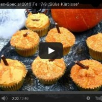 Halloween Rezept Video Tutorial – Süße Kürbisse!