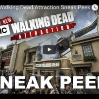 The Walking Dead Attraction – Zombies übernehmen die Universal Studios in Hollywood!