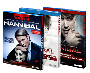 Serie Hannibal Staffel 1-3