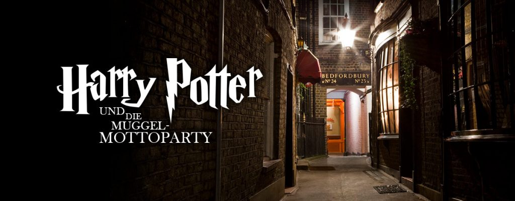 Die Harry Potter-Mottoparty