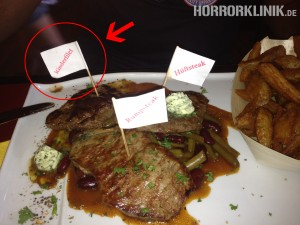 Kinderfilet im Steakhouse City Bull